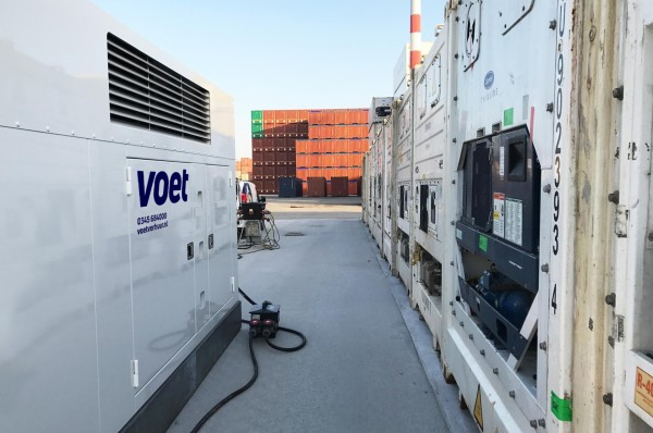 Powermanagement voor reefer containers